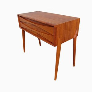 Scandinavian Teak GT 6835 Commode by Rimbert Sandholdt for Glas & Trä Hovmantorp, 1950s