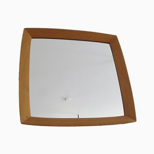 Scandinavian Square Model 409 Mirror by Uno & Östen Kristiansson for Luxus, 1950s