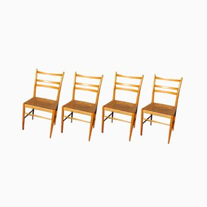 Dining Chairs by Yngve Ekström for Gemla Möbler, 1956, Set of 4