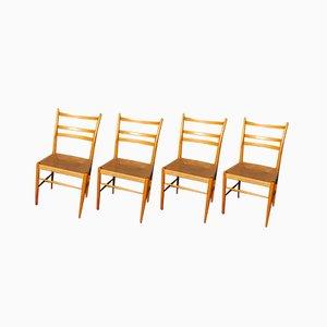 Esszimmerstühle von Yngve Ekström für Gemla Möbler, 1956, 4er Set