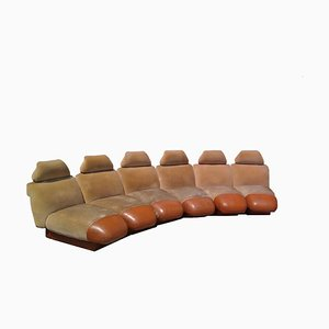 Modular Sofa, 1960s, Set of 6