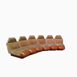 Modulares Sofa, 1960er, 6er Set