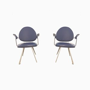 Mid-Century Model 302 Armchairs by Willem Hendrik Gispen for Kembo, Set of 2