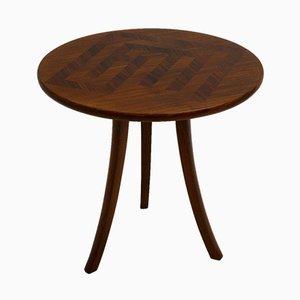 Tavolino da caffè Art Déco a tre gambe di Josef Frank per Haus & Garten, anni '20