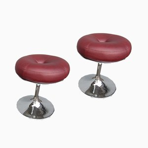 Mid-Century Scandinavian Stools by Börje Johanson for Johanson Design, Set of 2
