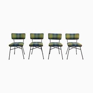 Elettra Esszimmerstühle von BBPR für Arflex, 1953, 4er Set