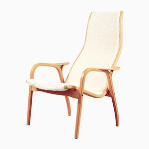 Vintage Lamino Armlehnstuhl von Yngve Ekström für Swedese, 1960er