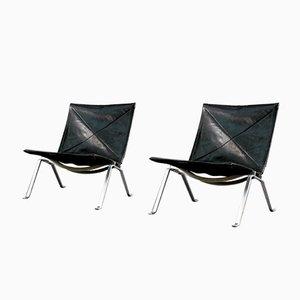 Mid-Century Lounge Chairs von Poul Kjærholm für E. Kold Christensen, 2er-Set