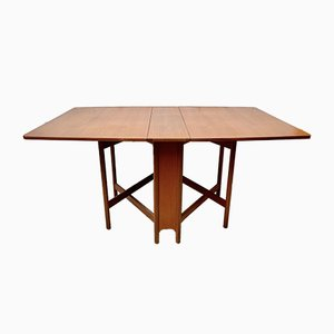 Vintage Teak Folding Dining Table from A. H. Mcintosh & Co LTD