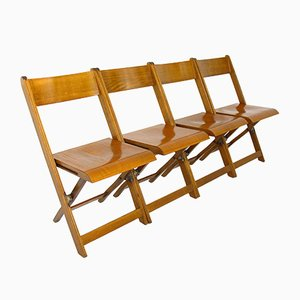 Folding Chairs, 1960s, Set of 4