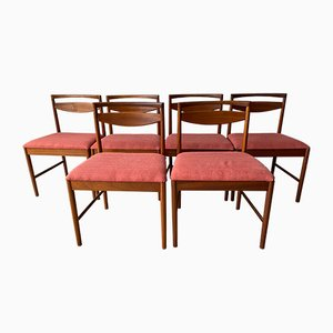 Teak Dining Chairs from McIntosh, 1970s, Set of 8