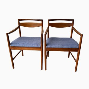 Vintage Teak Carver Dining Chairs from McIntosh, Set of 2