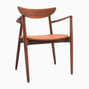 Scandinavian Teak Model 59 Armchair by Harry Ostergaard for Randers Møbelfabrik, 1950s