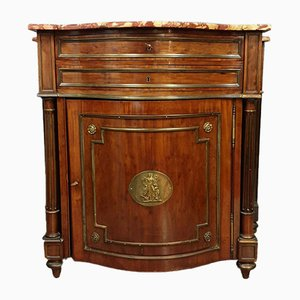 Napoleon III Mahogany and Gilt Bronze Cabinet
