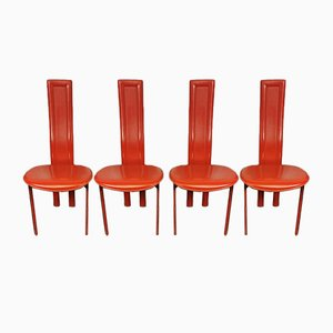 Dining Chairs by Giorgio Cattelan for Cattelan Italia, 1980s, Set of 4