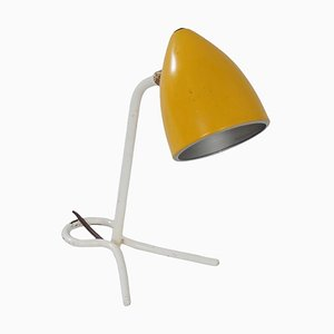 Yellow Desk or Wall Lamp by Busquet for Hala, 1950s