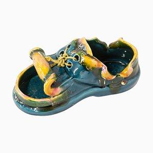 Cenicero Mid-Century o zapato Vide-Poche de Vallauris