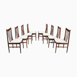 Palisander Dining Chairs by Arne Vodder, 1960s, Denmark, Set of 8