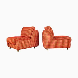 Mid-Century Czechoslovakian Armchairs from Interier Praha, 1970s, Set of 2