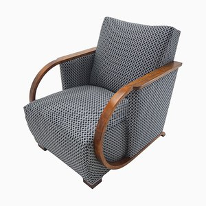 Art Deco Armchair from Tatra Pravenec, Czechoslovakia, 1930s