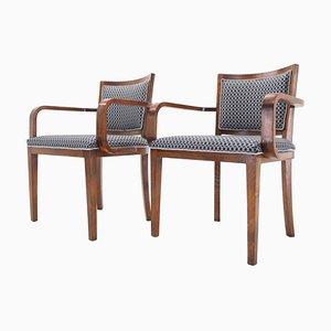 Art-Deco-Stühle aus der Tatra Pravenec, Tschechoslowakei, 1930er Jahre, 2er-Set