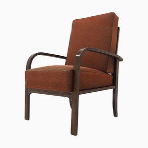 Art-Deco-Sessel, Tschechoslowakei, 1930er Jahre