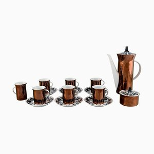Complete Berlin Hilton Coffee Service Set by Bjorn Wiinblad Rosenthal