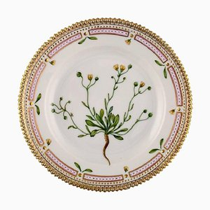 Royal Copenhagen Flora Danica Salad Plate in Hand-Painted Porcelain with Flowers