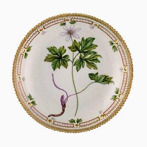 Royal Copenhagen Flora Danica Ciotola da portata rotonda in porcellana dipinta a mano