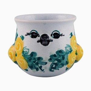 Bjørn Wiinblad, Dänemark, einzigartige Vase in Form eines Vogels
