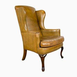Vintage Cognac Leather Armchair