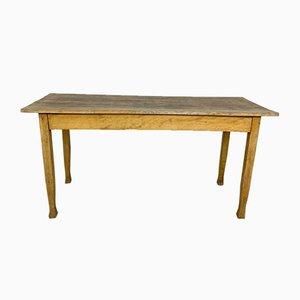 Table en bois de hêtre vintage