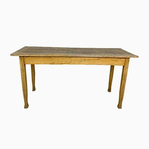 Vintage Beech Wooden Table