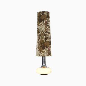 Lámpara de pie vintage con base iluminada de Doria