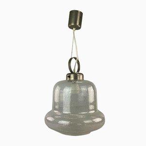 Lampada a sospensione in vetro con design Space Age, anni '60