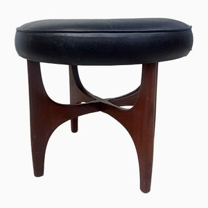 Mid-Century Teak Dressing Table Footstool from G-Plan