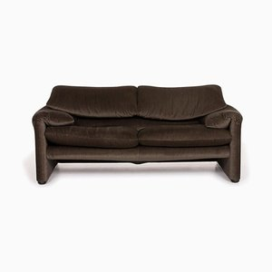 Beige-Grey Fabric Maralunga 2-Seat Sofa from Cassina