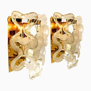 Wall Sconces or Lights Model Catena by J.T. Kalmar, Austria, Set of 2