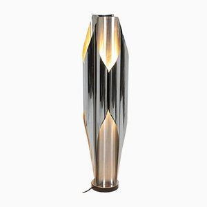 Sails Lamp in Stainless Steel from Maison Charles, 1970s