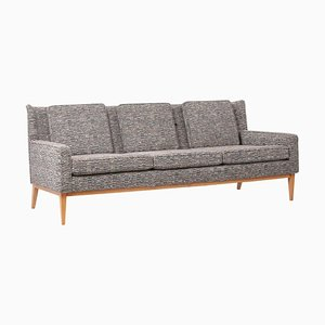 Upholstered Wingback Sofa 1307 by Paul Mccobb for Directional, US, 1950s
