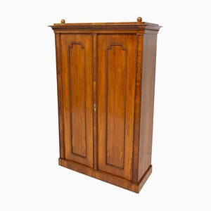 Antique Biedermeier Shelf Cabinet-Wardrobe, Austria-Hungary, 1830s
