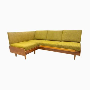 Mid-Century Corner Folding Sofa Bed, Czechoslovakia,1960s