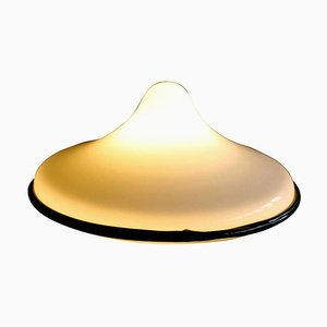 Glass Table Lamp by Ettore Sottsass for Vistosi