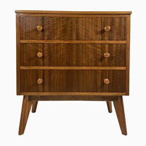 Zebrano Chest of Drawers from Morris of Glasgow, 1960s