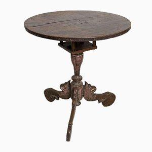 18th Century Tripod Base Birdcage Table