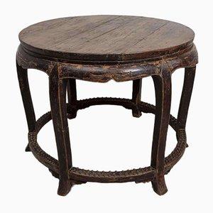 Runder Mitteltisch aus dem 19. Jahrhundert