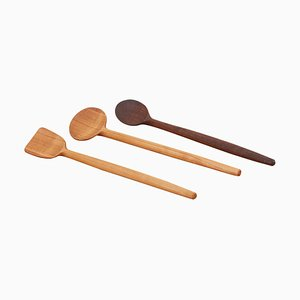 Wooden Spoons by Fabian Fischer, Germany, 2020, Set of 3