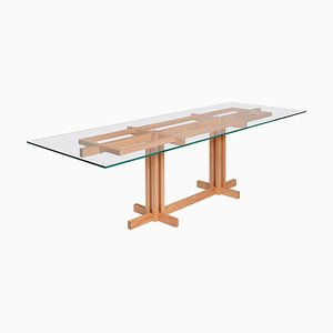 Ray Kappe RK15 Dining Table in Red Oak by Original in Berlin, Germany, 2020