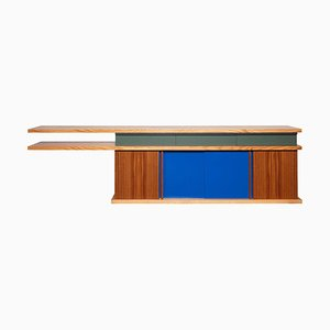 Ray Kappe RK5 Credenza in Red Oak / Teak by Original in Berlin, Germany, 2020