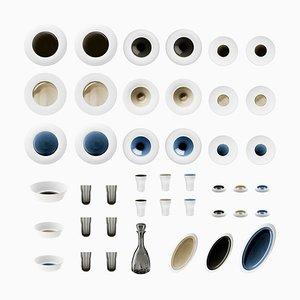 Biscuit Porzellan Set mit handgearbeiteter Glasur von Hering Berlin